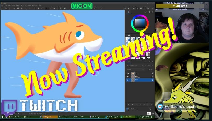 [modeling stream] ANTHRO SHARK