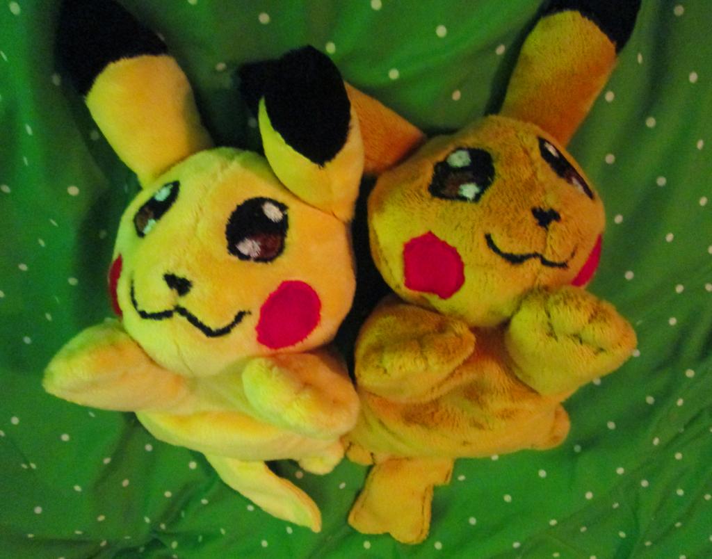 Pikachu Beanie Plushies (FOR SALE)