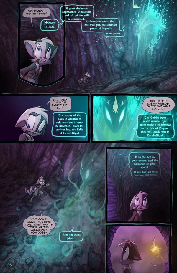 Dreamkeepers Saga page 416