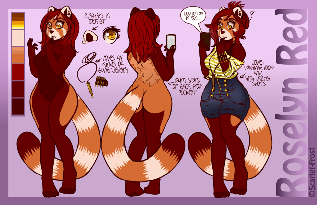 Roselyn Red Ref Sheet