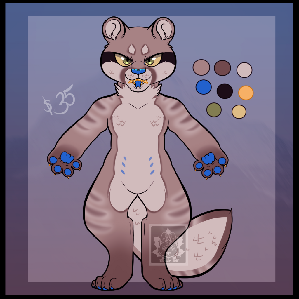 Most recent image: Puma/lizard adopt for sale