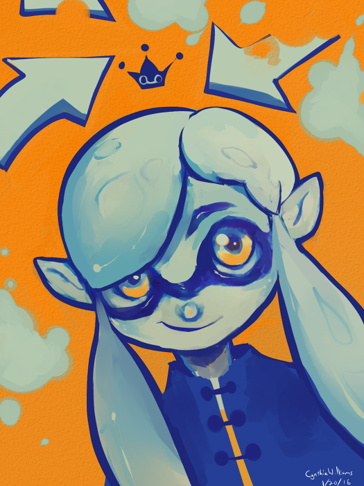 Squid Kid Slosher king