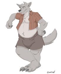 Random wolf guy