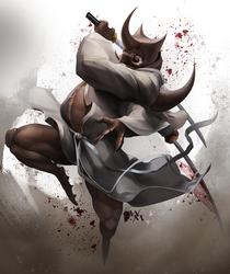 Blade Under Mask: Dust