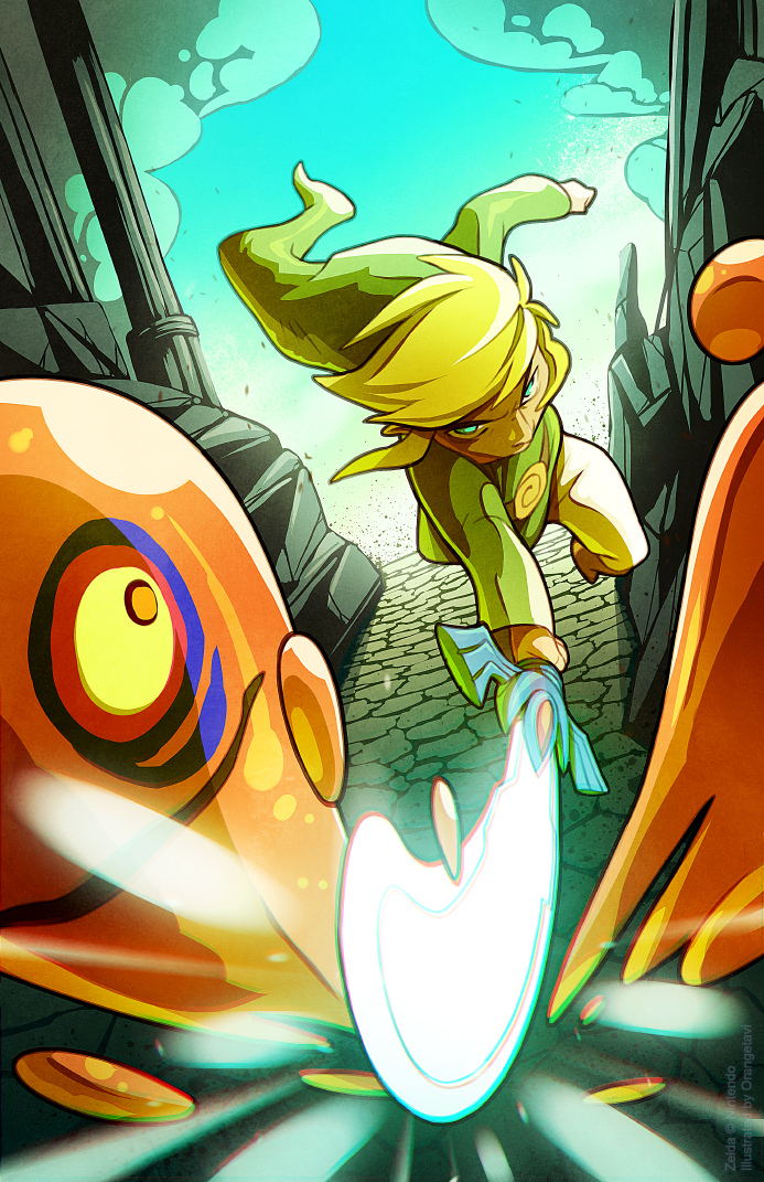 Toon Link on a Mission