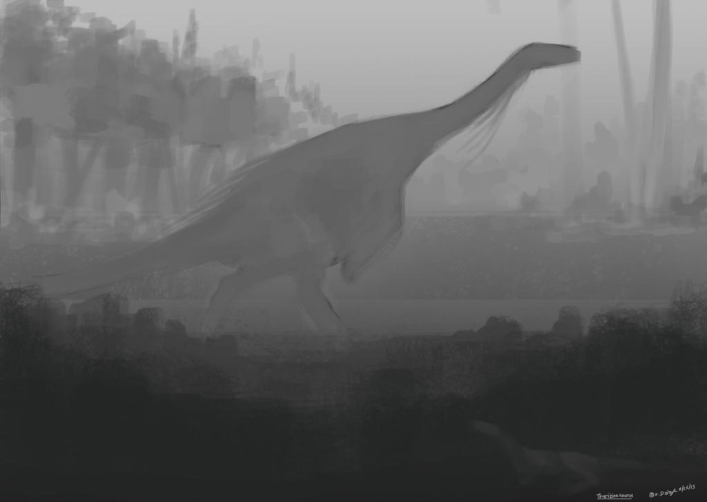 Dinovember 23 - Therizinosaurus