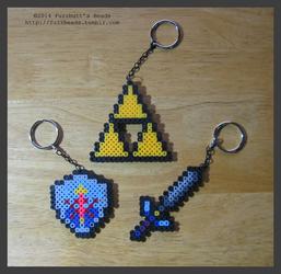 Zelda Keychains