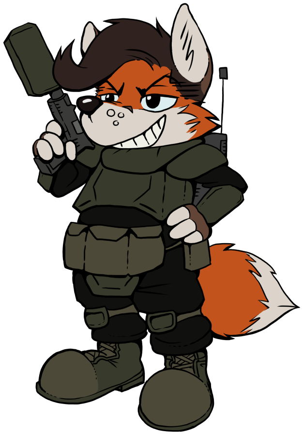 Most recent image: The Littlest Mercenary