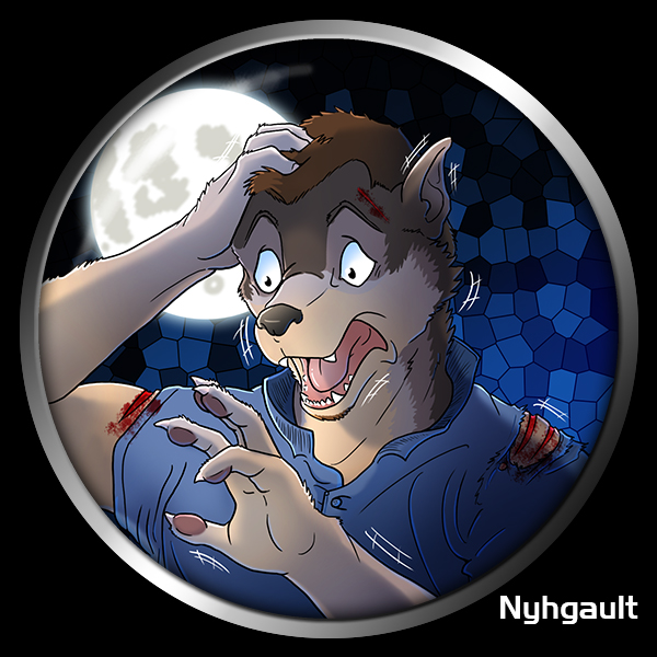 Werewolf TF Button by Nyhgault