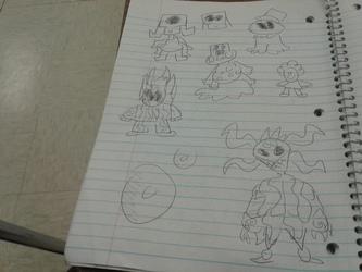 Alien Doodles