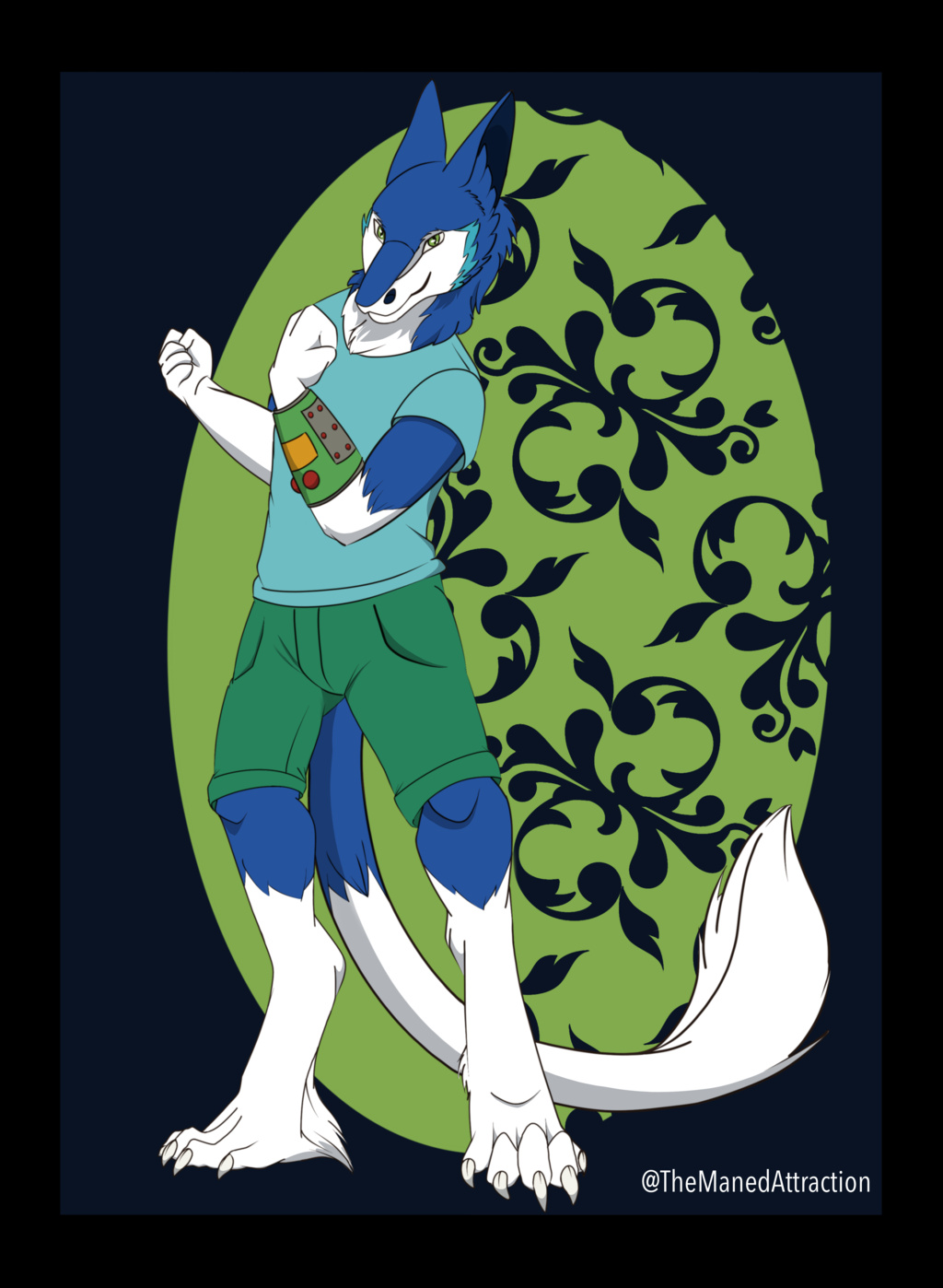 Jaxine - 2 of 13 Character Card