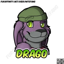 {SC} Drago Badge