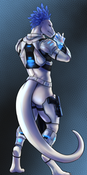 Scifi rawr (back)