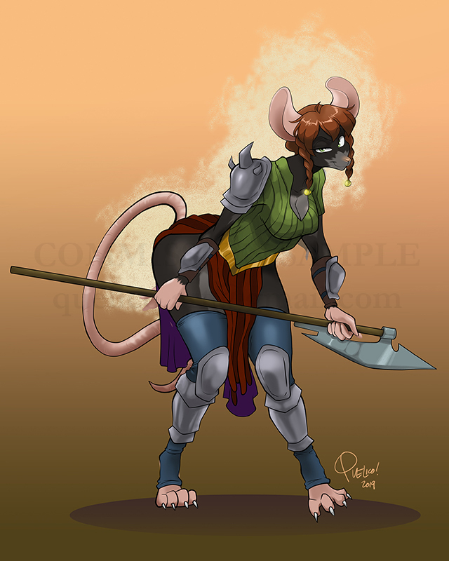 Commission: Akna warrior
