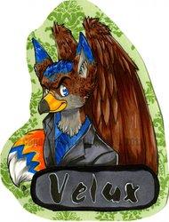 Vel-bert badge by ChowChow