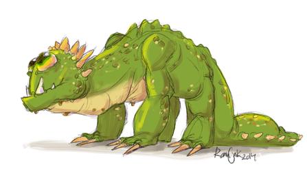 Squishy Dragon