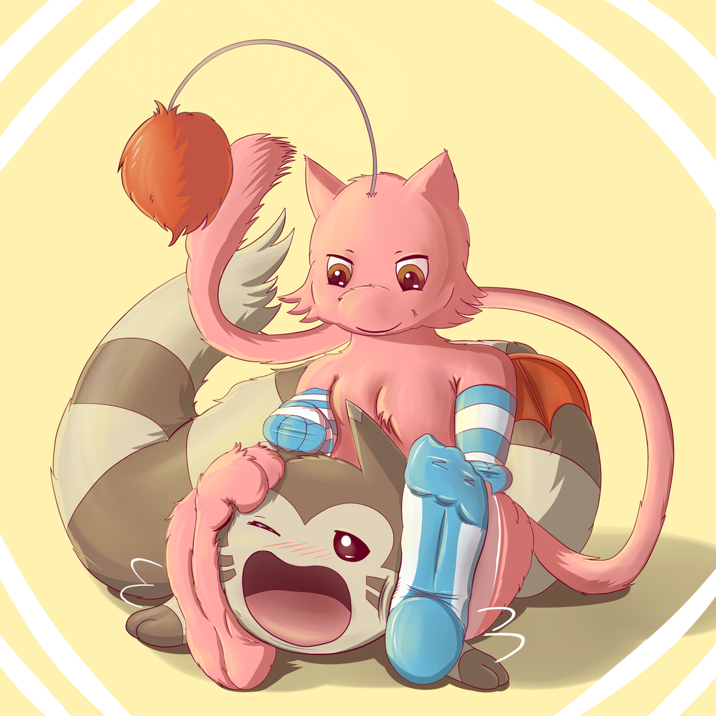 Like My Paws (Mewth and Furret)
