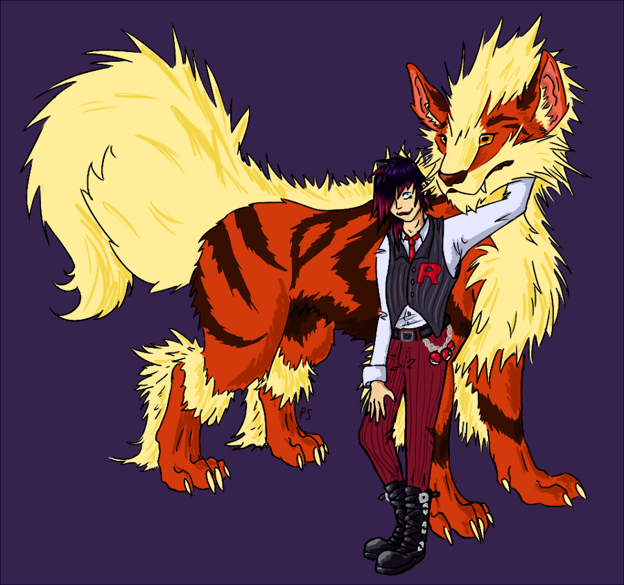 Most recent image: Arcanine and Aki
