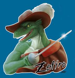 Zefiro Badge