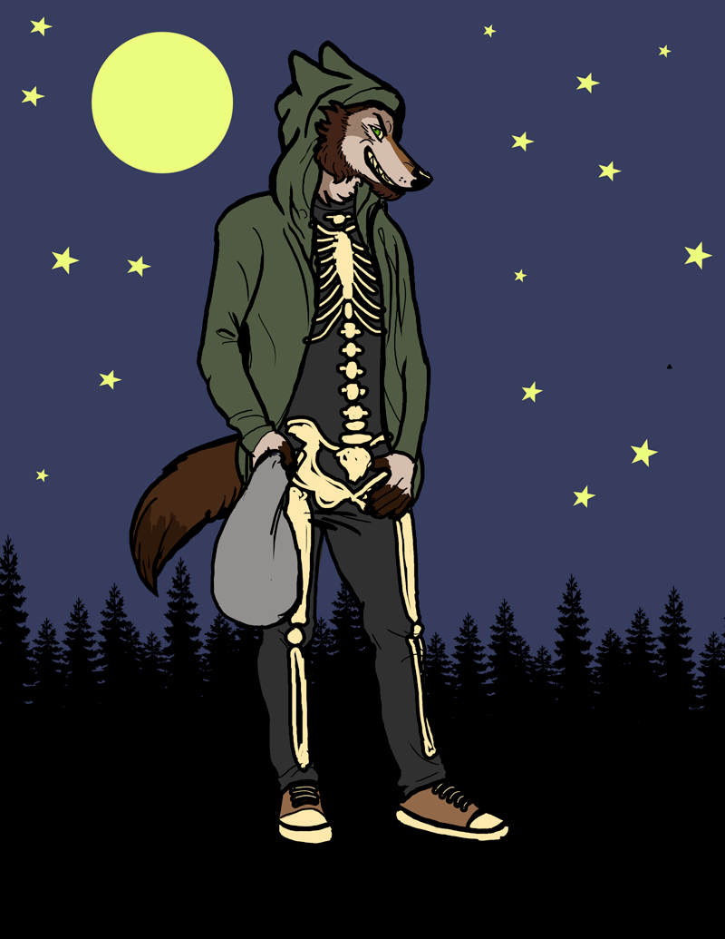 BodieCoyote Trick Or Treat Commission
