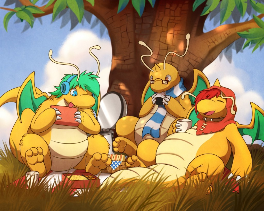 Dragonite picnic