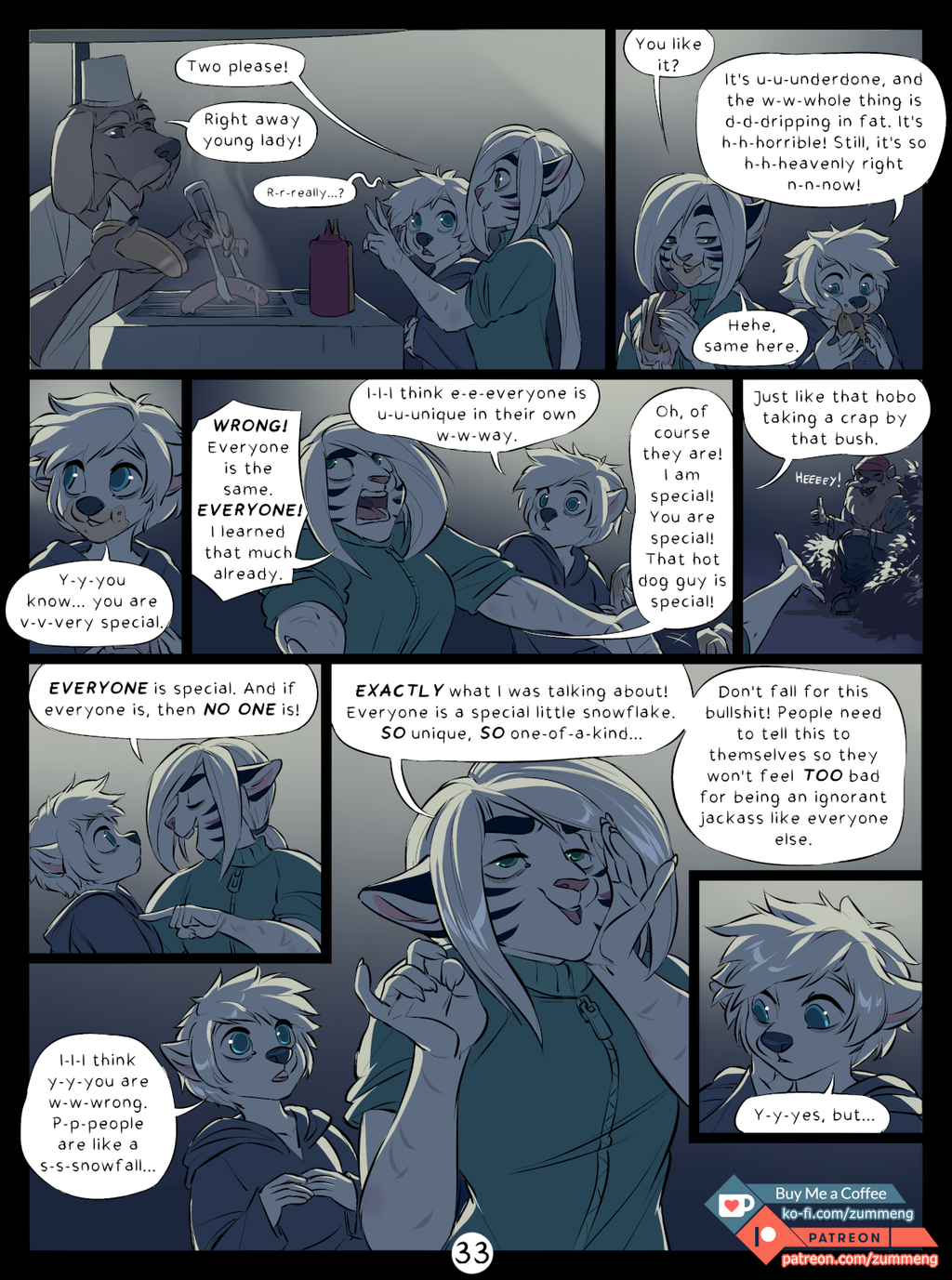 Welcome to New Dawn pg. 33.