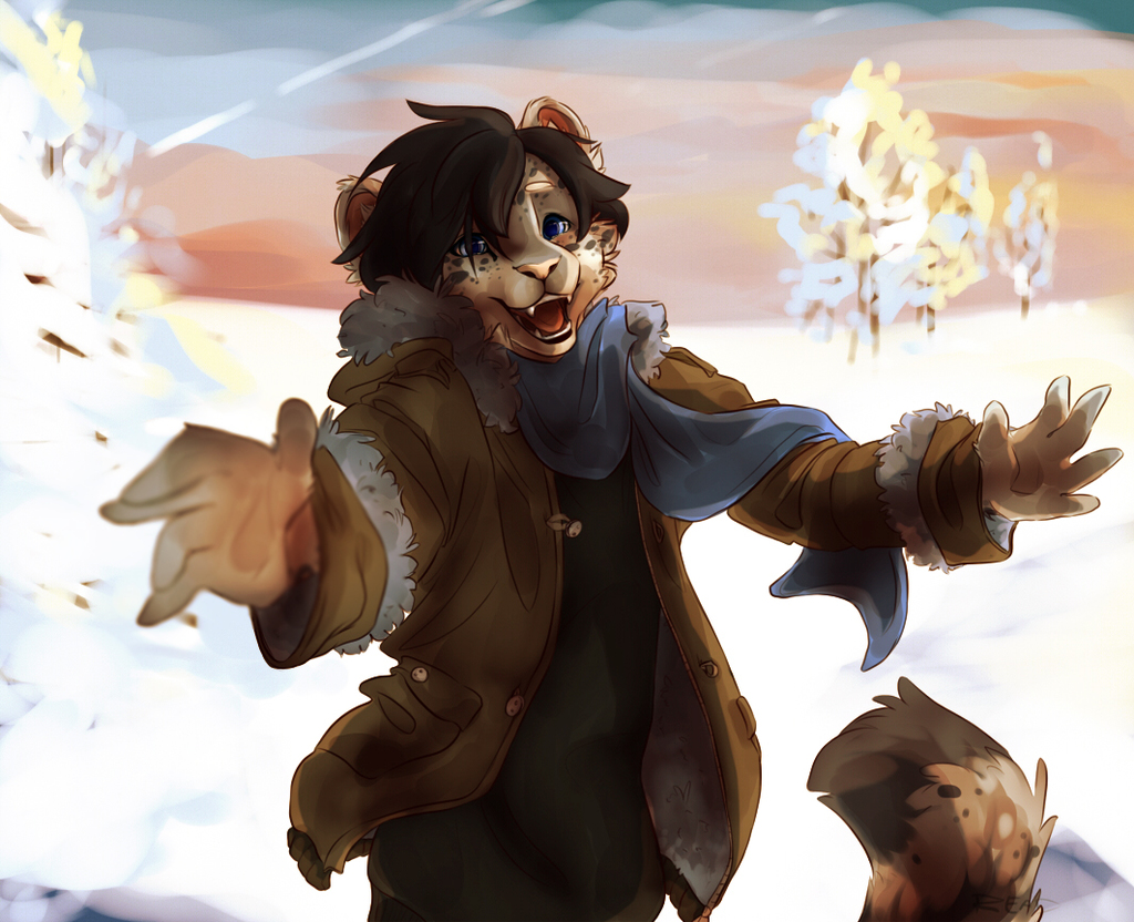 Snow Hugs~!
