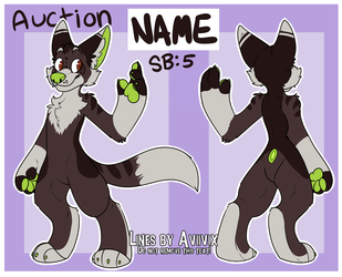 Green Stripes Pup Auction (OPEN)
