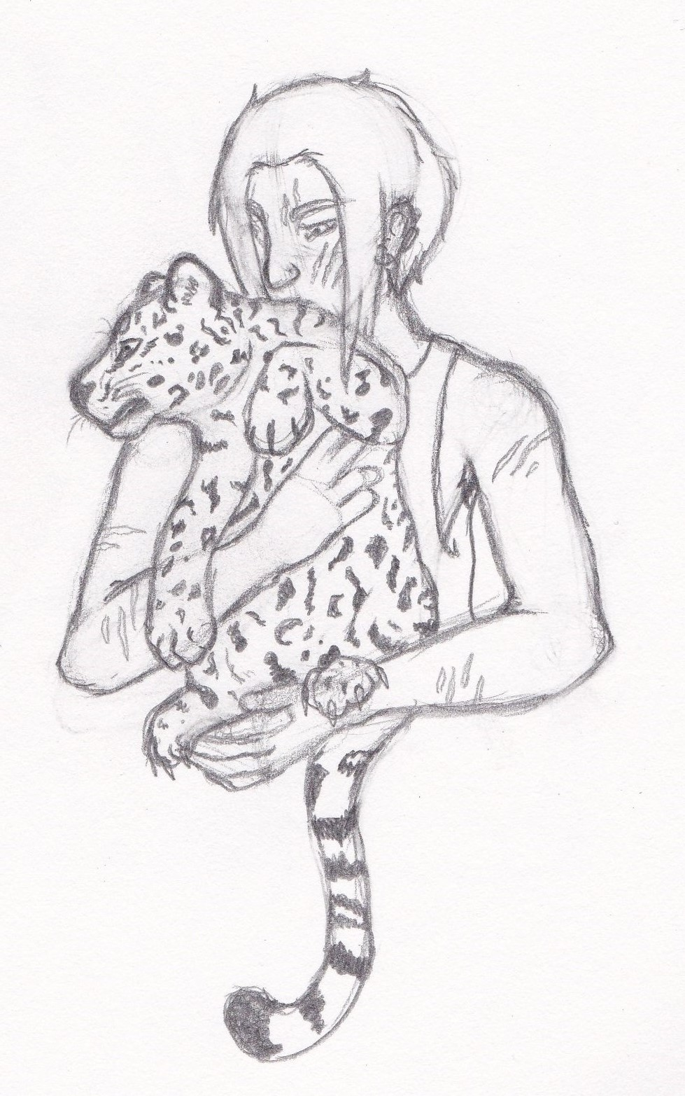 Most recent image: Baby Feral Jag AU