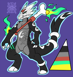 Zombie Male Marowak +Design+ (SOLD)