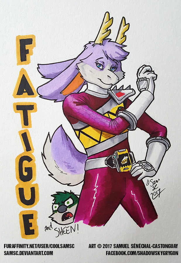 Fatigue Dino Charge Purple Ranger Badge