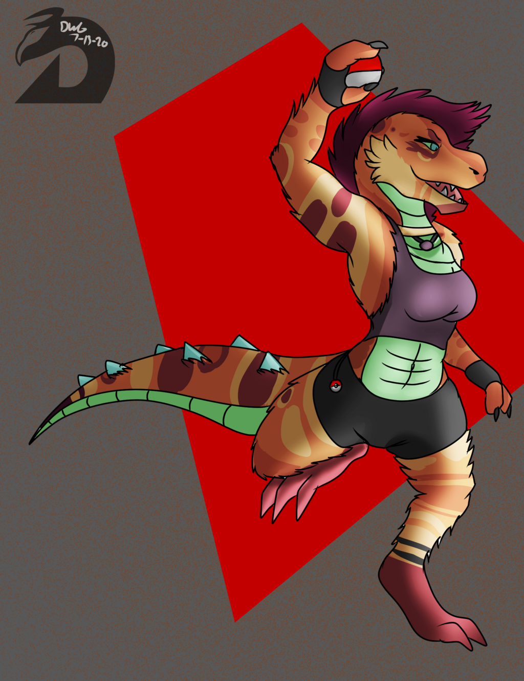 Most recent image: Trainer Zaria Wants to Battle!
