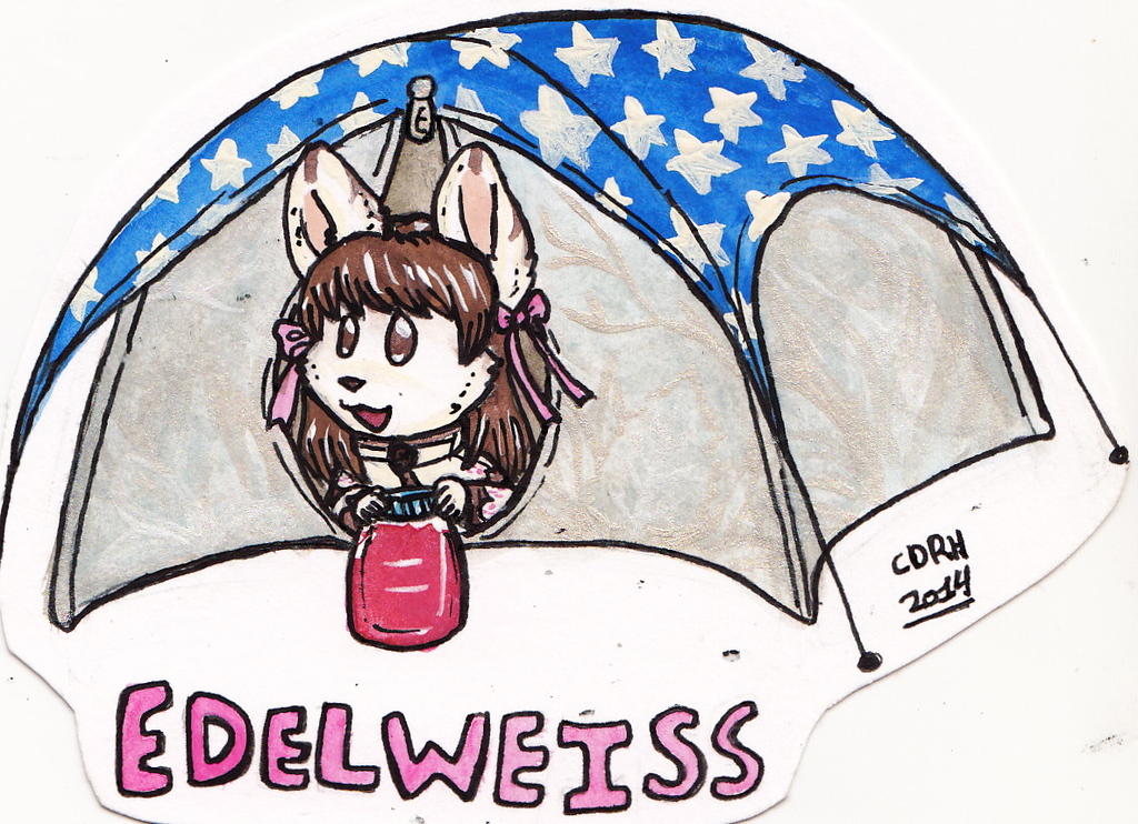 Edelweiss Tent Badge