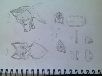 Fursuit head concept
