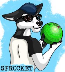 Commission: badge for Sprocket