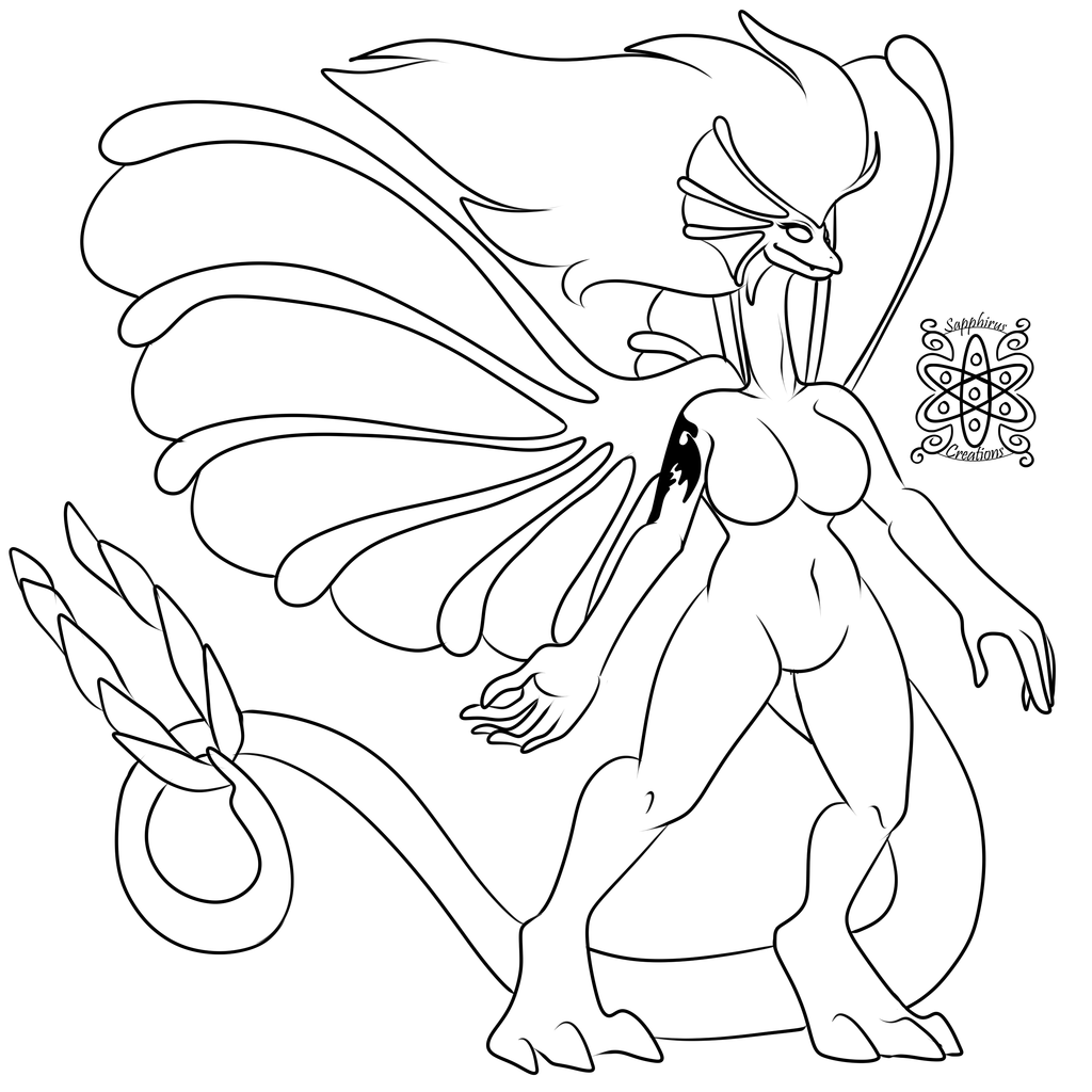 Ancient Fairy Dragoness +Commission WIP+