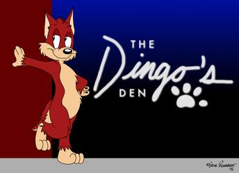 The Dingo's Den - Room Sign