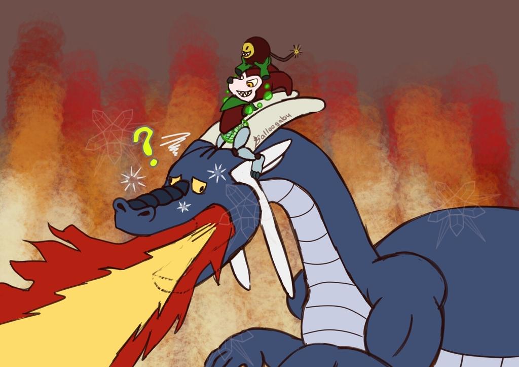 Balloogabu Malaimpmon Manipulated a Dragon