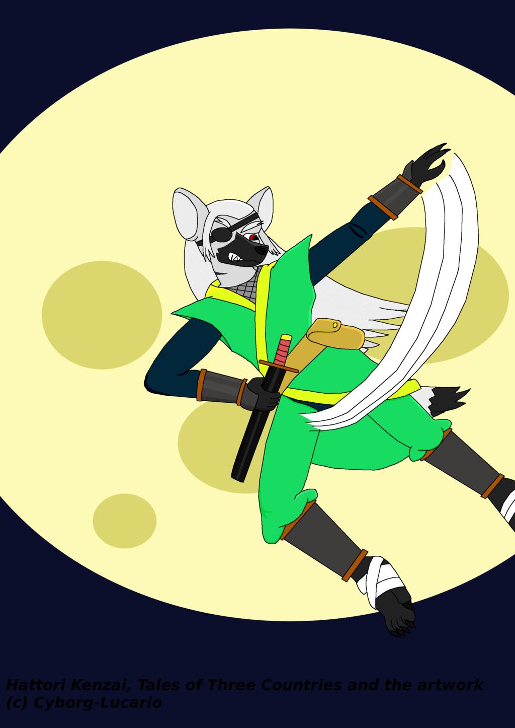 The moon, Hattori Kenzai