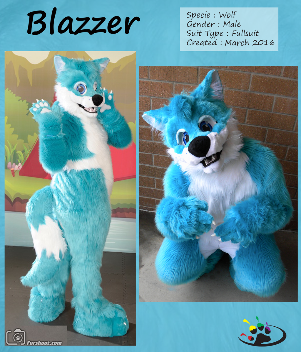 Most recent image: Blazzer the Happy Wolf (Fullsuit)