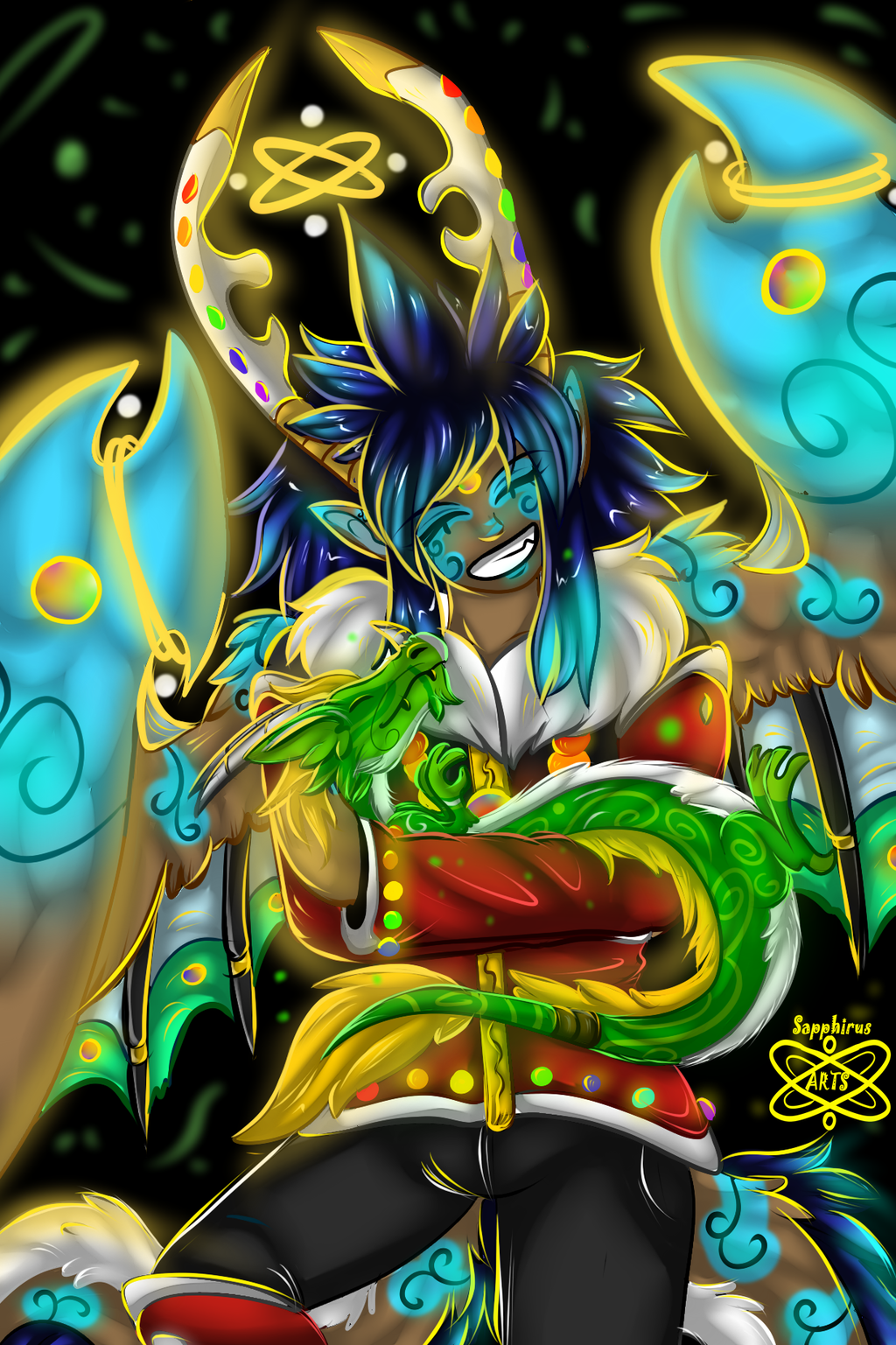Mother of Dragons +Sapphirus+