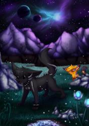 In the dark of night