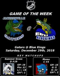 FHL Season 7 GOTW#9: Gators @ Blue Kings