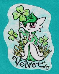Velvet Badge - conbadge exchange