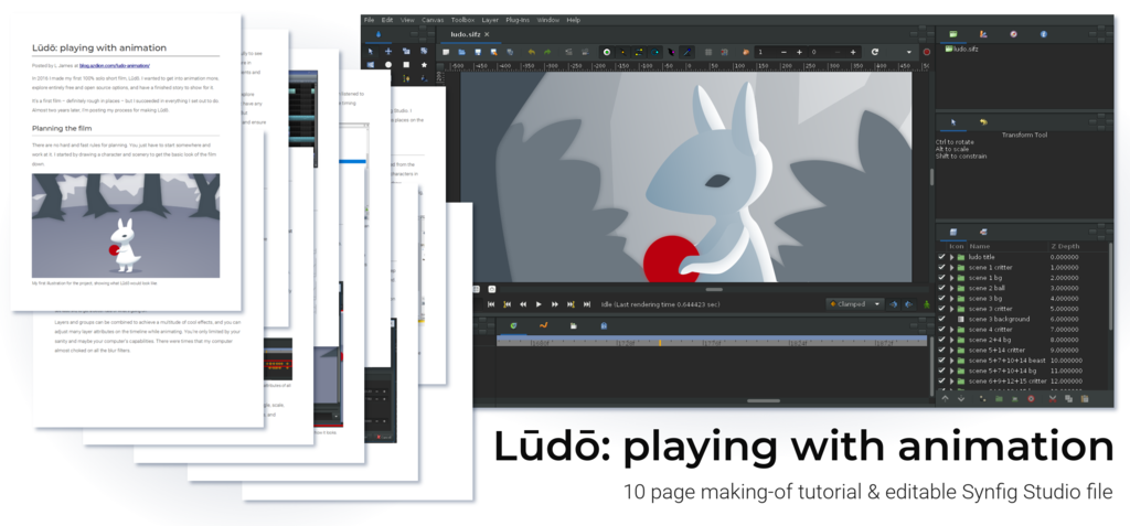 Lūdō: playing with animation [tutorial]