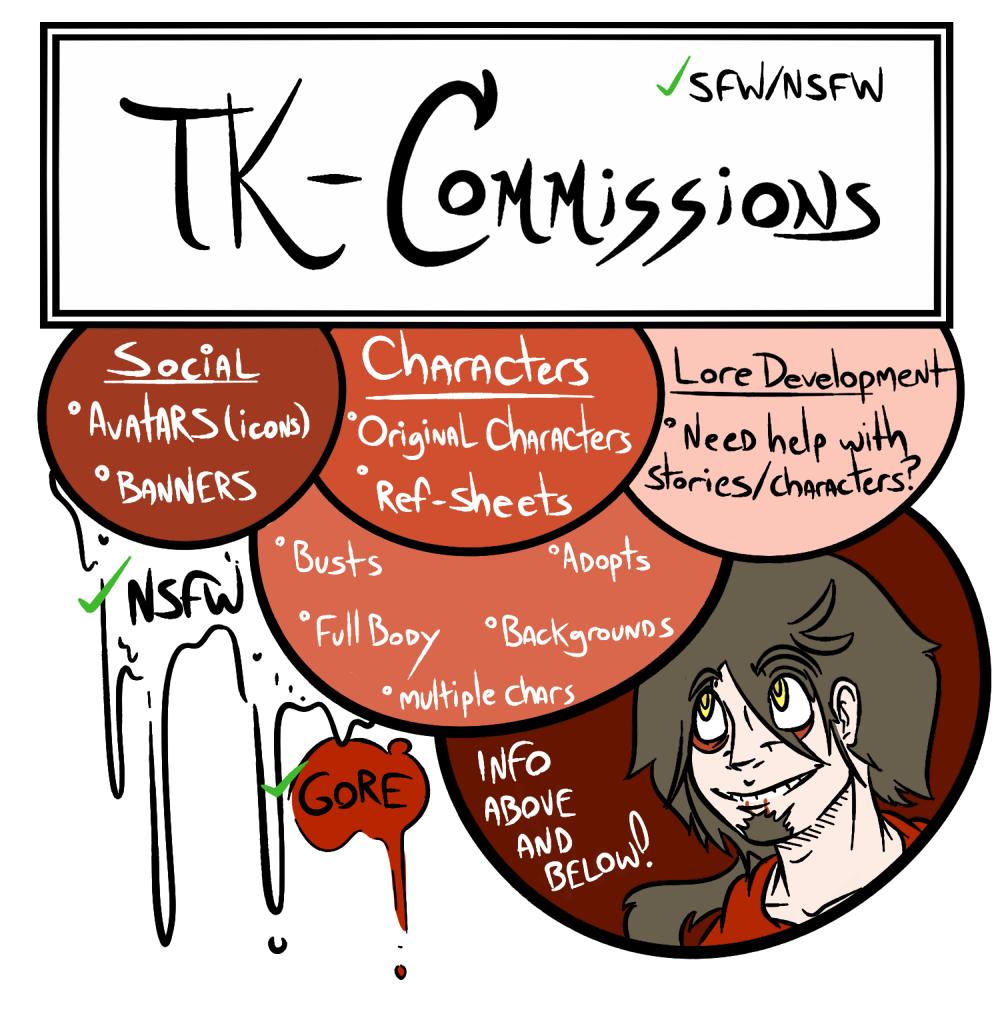 Most recent image: TK-COMMISSIONS: NSFW/SFW