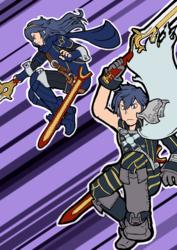 HERE COME DA SWORDS
