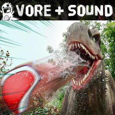 Most recent image: Melonball vs The T-Rex (Vore Audio)