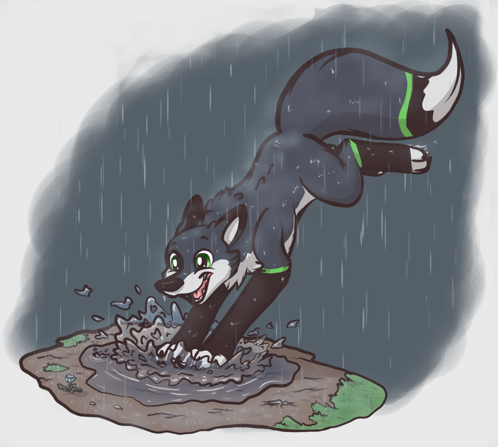 Most recent image: Spring rain :Commission: