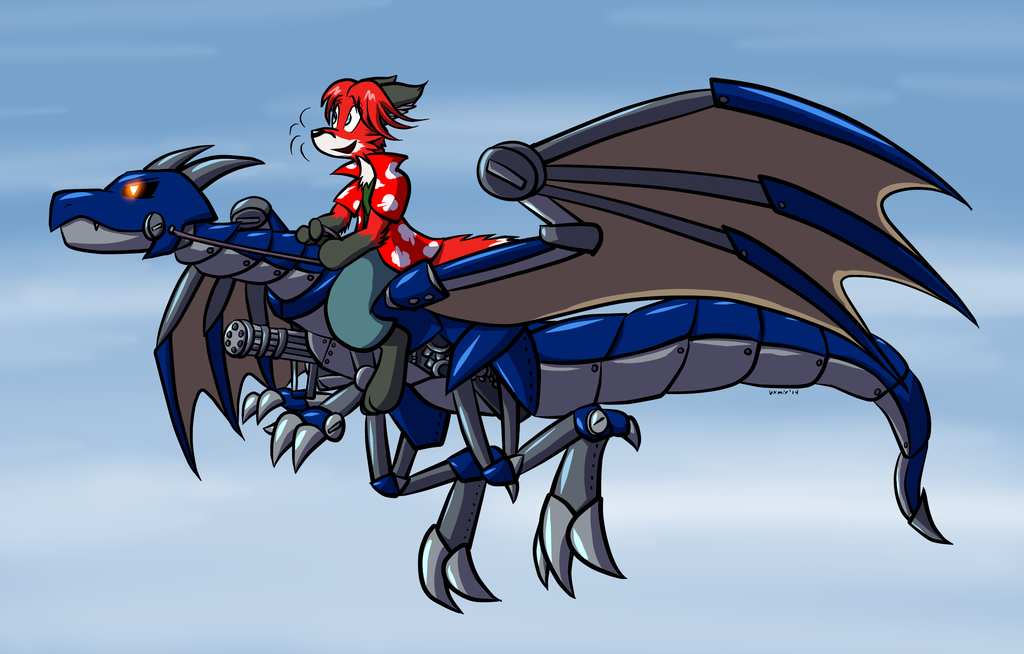 Clockwork Dragon Ride